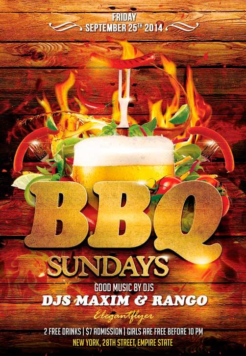 barbecue_party_free_flyer_psd_template