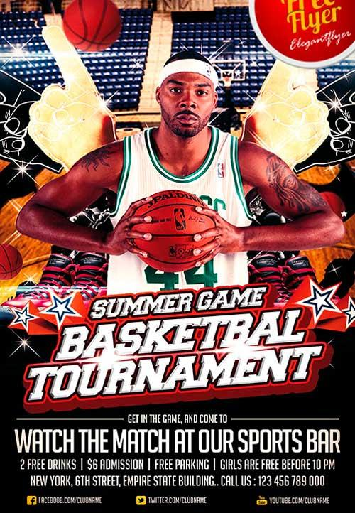 20 Attractive Free Sports Flyer Templates – Free Sports Flyer Templates