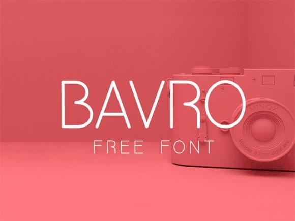 bavro_free_font