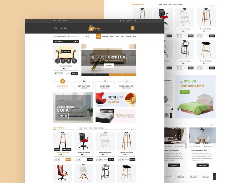 bazar_ecommerce_template