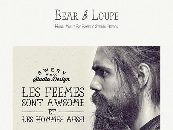 bear_loupe_free_font_family