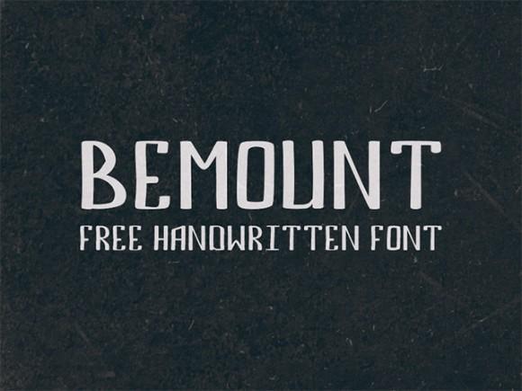bemount_free_font