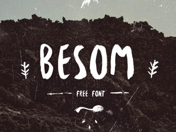 besom_free_font