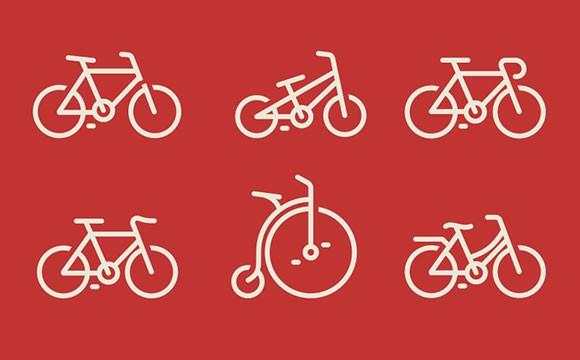bicycles_icons_psd