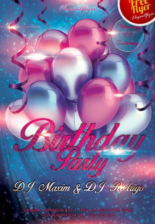 free_birthday_party_club_flyer_psd_template