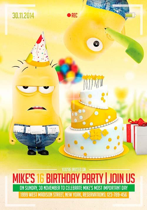birthday_party_free_psd_flyer_template