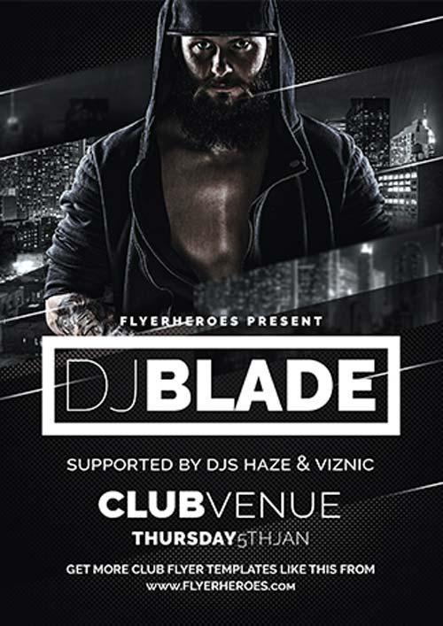 blade_dj_free_flyer_template