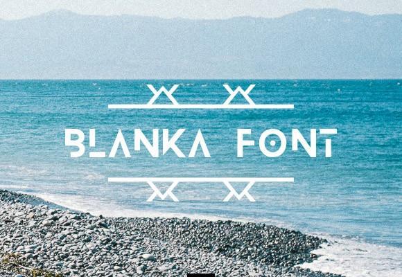 blanka_free_font