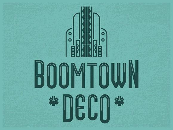 boomtown_deco_free_font