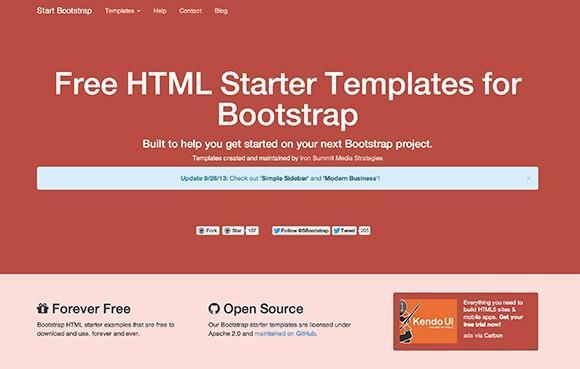start_bootstrap_starter_html_templates