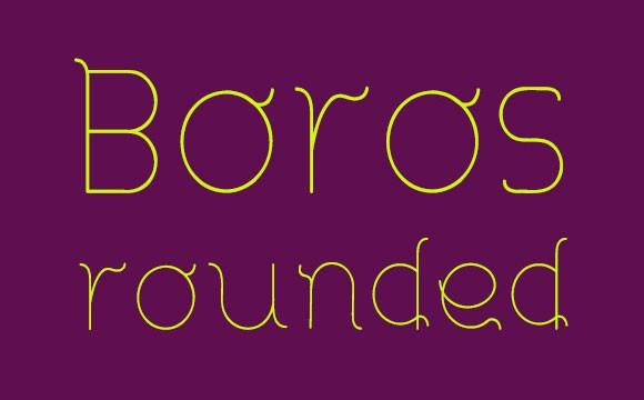 boros_rounded_free_font