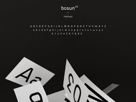 bosun_free_font