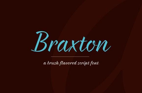 braxton_free_font