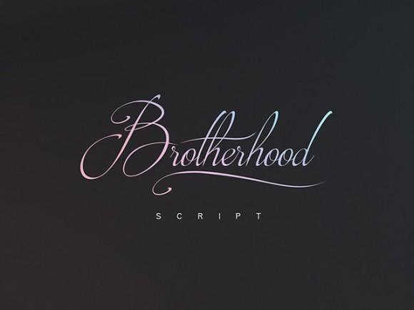 brotherhood_script_a_free_handwritten_font