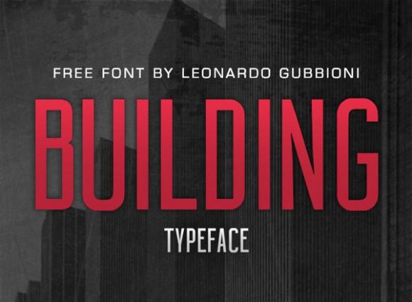 building_free_font