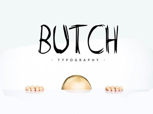 butch_free_handwritten_font