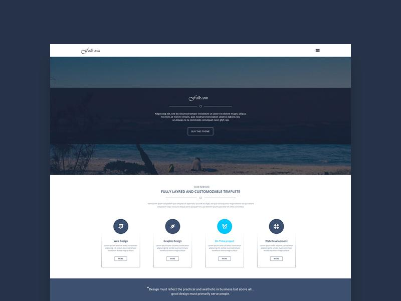 folk_landing_page_design