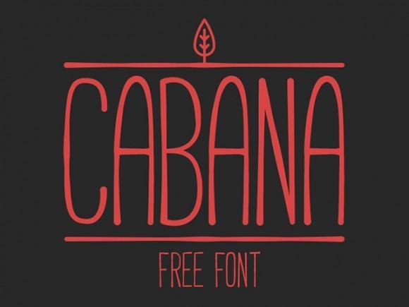 cabana_free_font