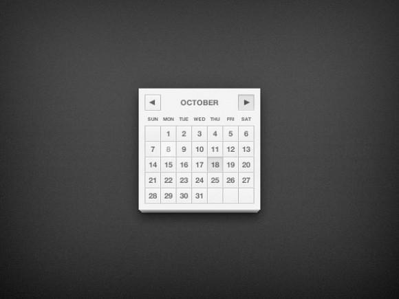calendar_ui_psd