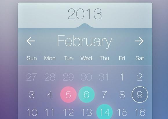 transparent_calendar_widget_psd