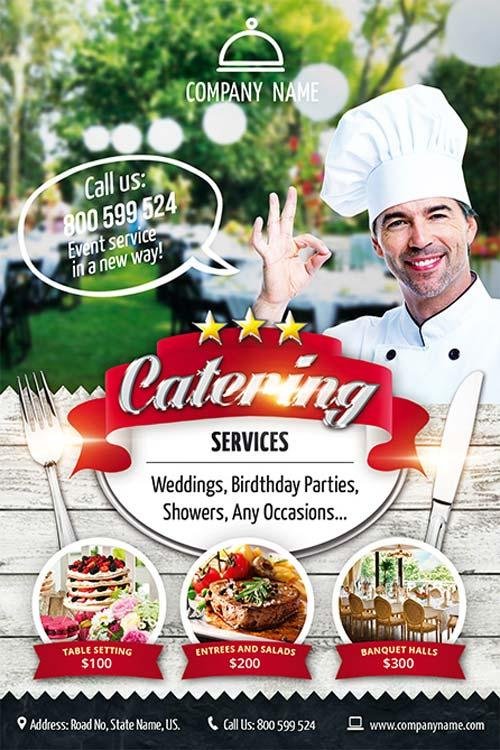 13 Good Looking Free Restaurant Flyers Templates Utemplates