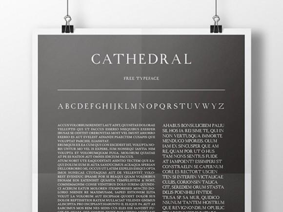 cathedral_free_font