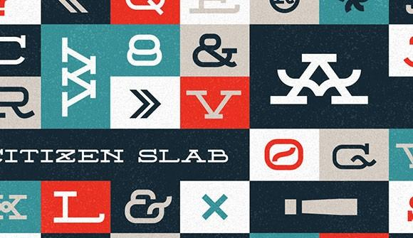 citizen_slab_free_font
