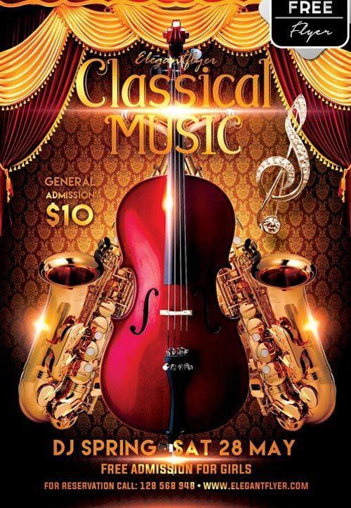 classical_music_party_free_psd_flyer_template