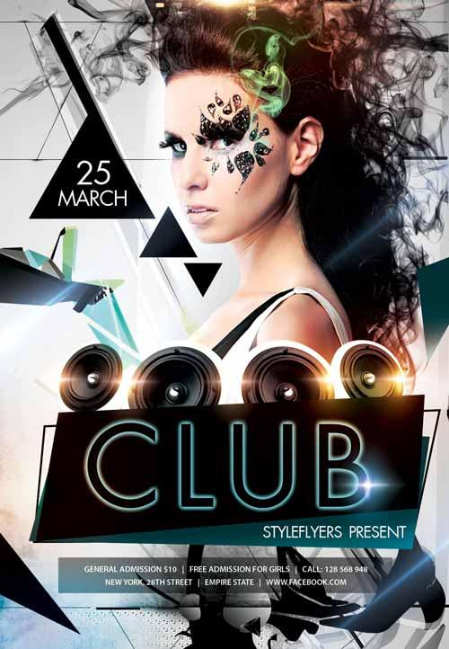 40 Free Club Flyers Psd Templates Utemplates