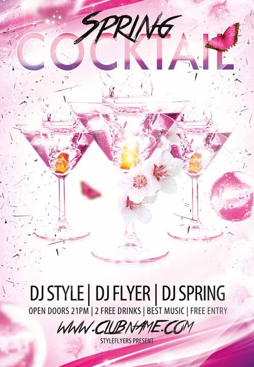 cocktail_spring_free_flyer_template