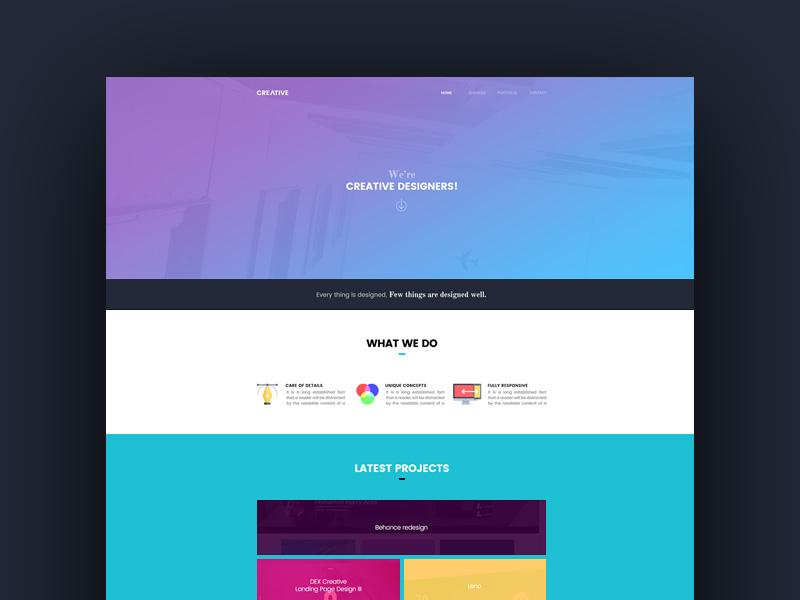 creative_web_template