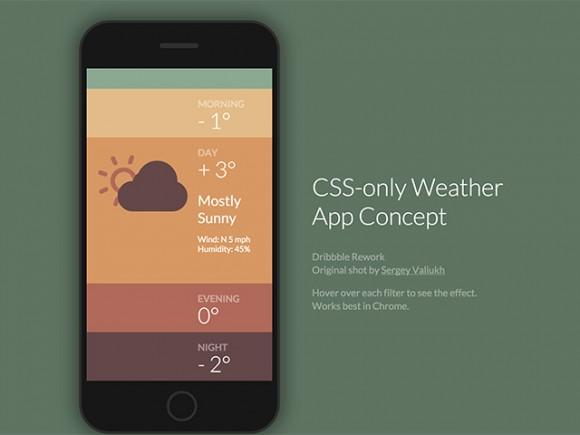 cssonly_weather_app_concept