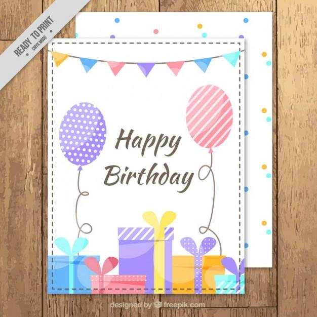 cute_birthday_card_with_gifts_and_balloons