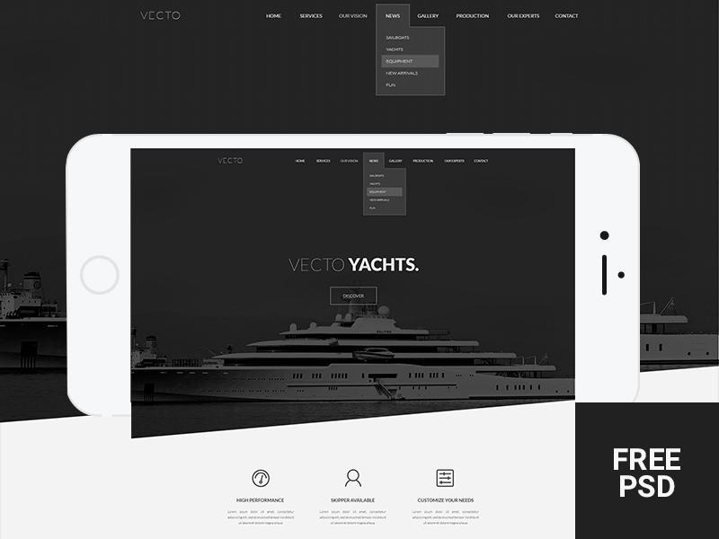 vecto_minimal_portfolio_template