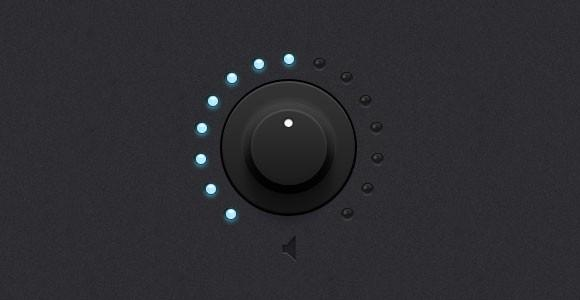 dark_knob_with_light_leds_psd