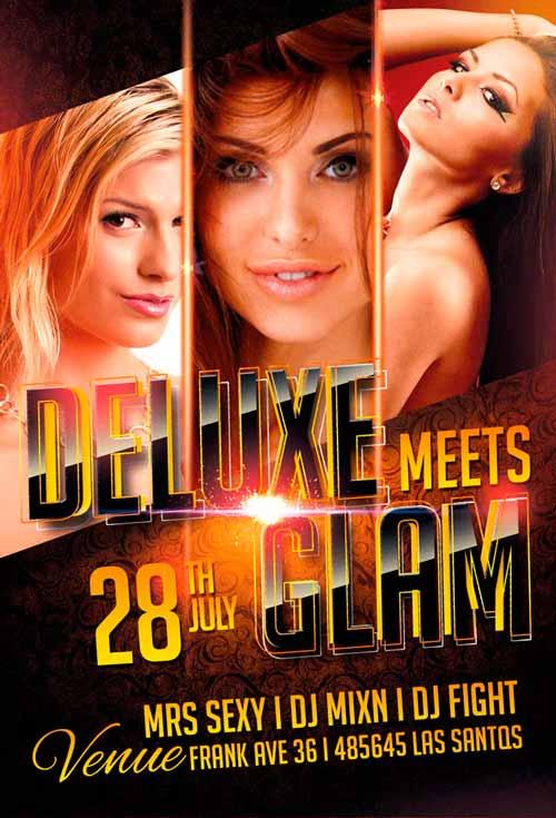 deluxe_glam_night_free_psd_flyer_template