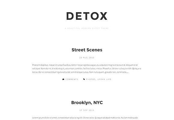 detox_free_ghost_theme
