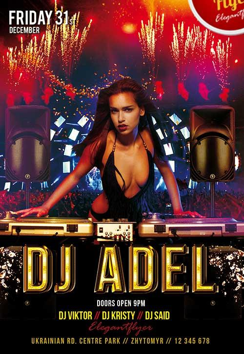 dj_adel_club_and_party_free_flyer_psd_template