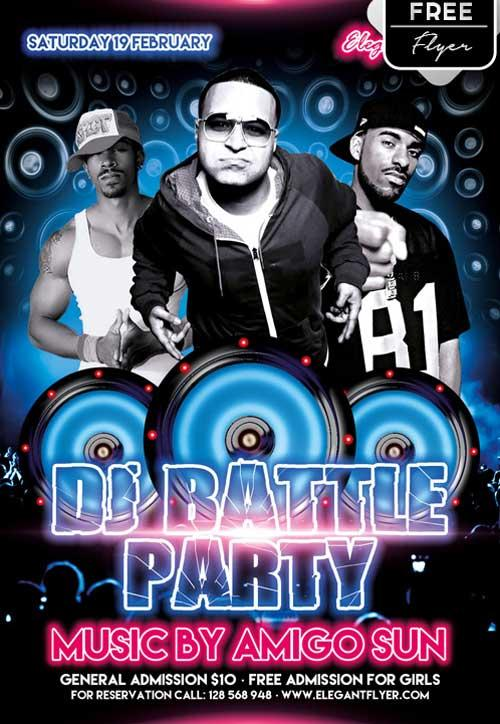 dj_battle_party_free_psd_flyer_template