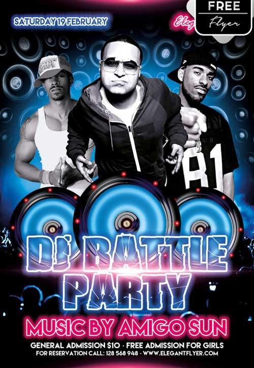dj_battle_party_free_psd_flyer_template