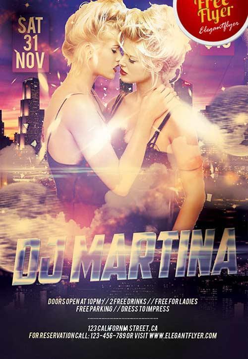 dj_martina_free_psd_flyer_template