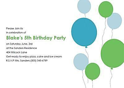 Free Printable Birthday Invitations By Do It Yourself