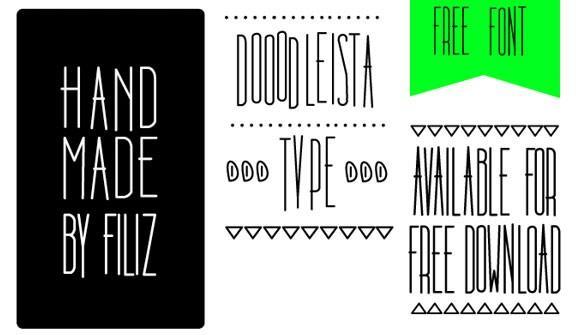 dooodleista_free_font_family