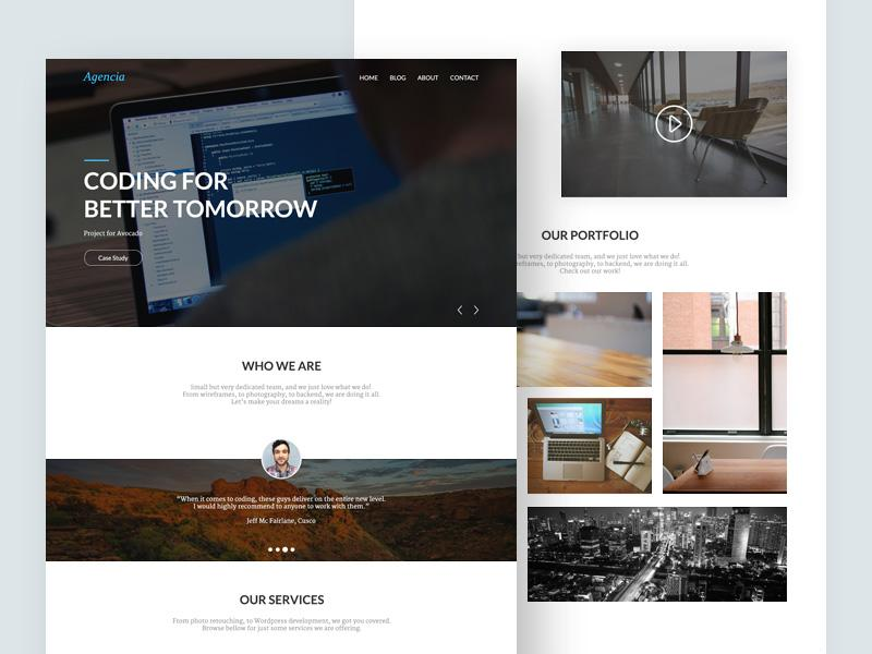 agencia_website_template