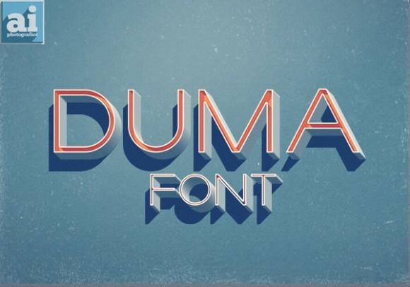 duma_free_font