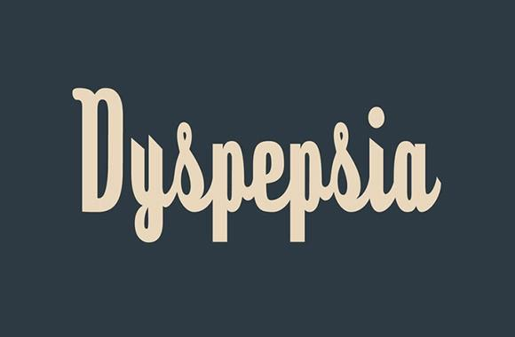 dyspepsia_free_font
