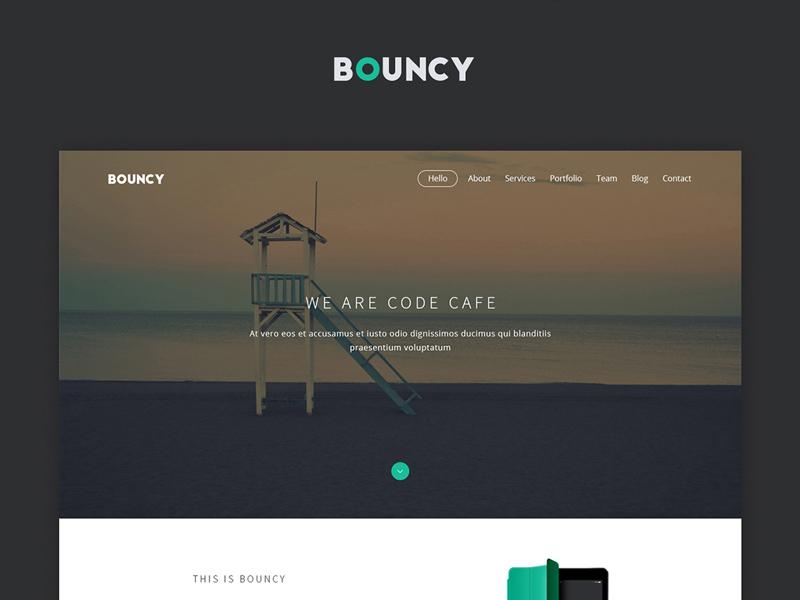 bouncy_one_page_digital_agency_template