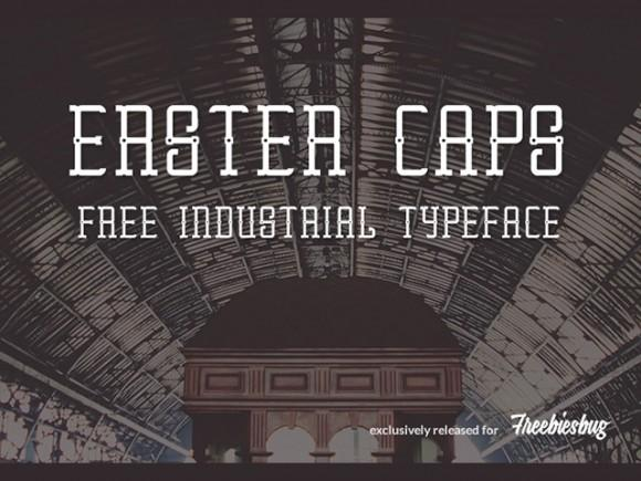 erster_caps_free_font