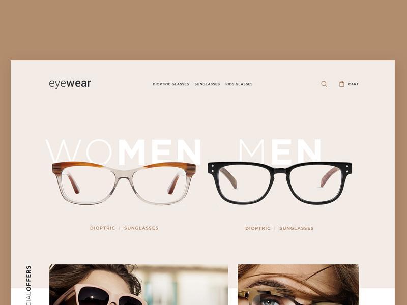 eyewear_ecommerce_template