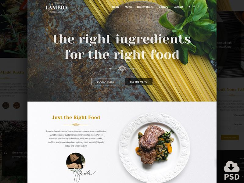 one_page_restaurant_template